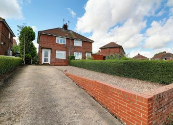 Thumbnail 2 bed semi-detached house for sale in Laycock Avenue, Gringley-On-The-Hill, Doncaster