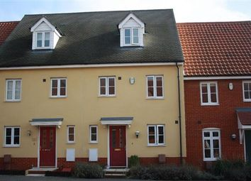 Thumbnail 3 bed town house for sale in Turing Court, Grange Farm, Kesgrave, Ipswich