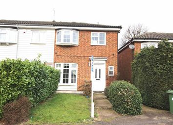Thumbnail 3 bed end terrace house for sale in Whitehouse Avenue, Borehamwood