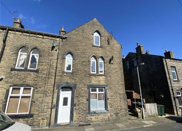 Thumbnail 3 bed end terrace house for sale in Knowles Street, Denholme, Bradford