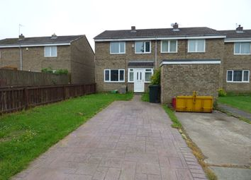 Thumbnail 3 bed semi-detached house for sale in Haggerston Close, Westerhope, Newcastle Upon Tyne