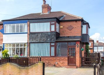 Thumbnail 3 bed semi-detached house for sale in Grange Park Grove, Leeds, West Yorkshire