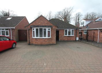 Thumbnail 2 bed detached bungalow for sale in Welbeck Avenue, Burbage, Hinckley