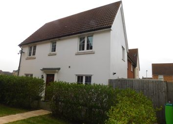 Thumbnail 3 bedroom end terrace house for sale in Harrier Way, Stowmarket