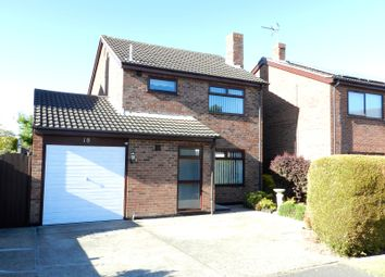 Thumbnail 3 bed detached house for sale in Cherry Hill Close, Worlingham