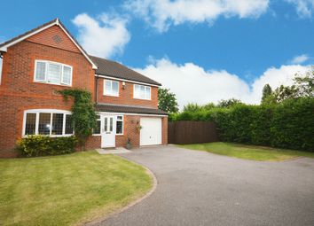 Thumbnail 4 bed detached house for sale in Stockley Crescent, Shirley, Solihull
