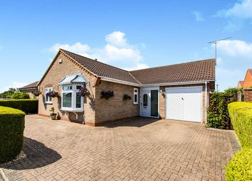 Thumbnail 2 bed bungalow for sale in Lawley Close, North Greetwell, Lincoln
