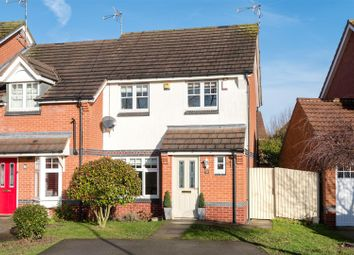 Thumbnail 3 bed semi-detached house for sale in Canal Way, Hinckley