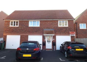 Thumbnail 2 bed flat for sale in Angell Drive, Market Harborough, Leicestershire, .