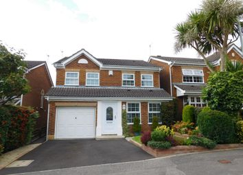 Thumbnail 4 bed detached house for sale in Woodpecker Drive, Creekmoor, Poole