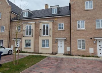 Thumbnail 4 bedroom terraced house to rent in Buttercup Avenue, Eynesbury, St. Neots