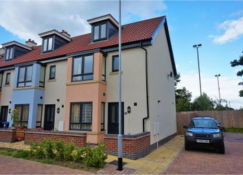 Thumbnail 3 bed end terrace house for sale in Canal Court, Saxilby, Lincoln