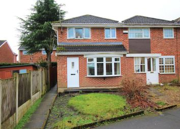 Thumbnail 3 bed end terrace house for sale in Farnham Walk, West Hallam, Ilkeston