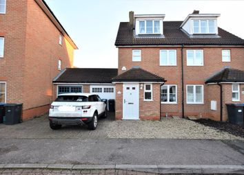 Thumbnail 3 bed semi-detached house for sale in Malkin Drive, Church Langley, Harlow