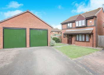Thumbnail 4 bed detached house for sale in Wood Piece Close, Wall Meadow, Worcester
