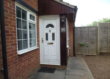 Thumbnail 1 bed end terrace house to rent in Swan Mead, Luton