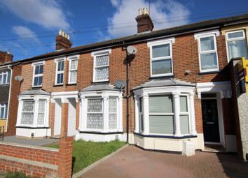 Thumbnail 3 bed terraced house for sale in Foxhall Road, Ipswich
