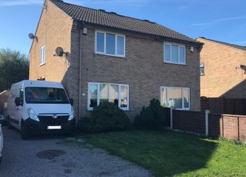 Thumbnail 2 bed semi-detached house for sale in Blackthorne Close, Balderton, Newark