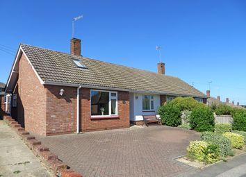 Thumbnail 3 bed semi-detached bungalow for sale in Bedingfield Crescent, Halesworth