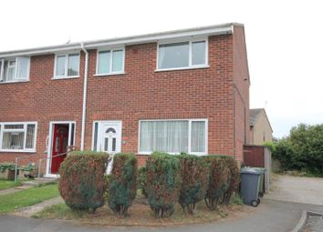 Thumbnail 3 bedroom end terrace house for sale in The Limes, Wittering, Peterborough
