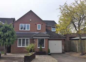 Thumbnail 4 bed detached house for sale in Horner Close, Huby, York