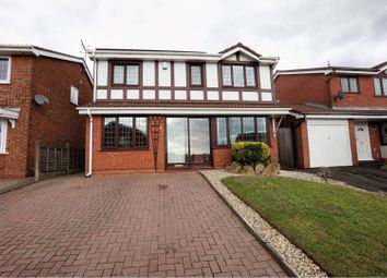Thumbnail 4 bed detached house for sale in Aintree Way, Dudley