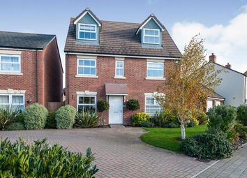 Thumbnail 5 bed detached house for sale in Boulmer Avenue Kingsway, Quedgeley, Gloucester, Gloucestershire