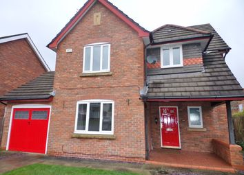 Thumbnail 4 bed detached house for sale in Warwick Grove, Bedlington
