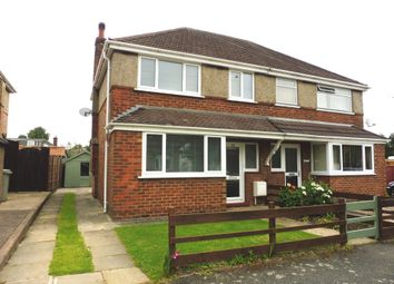 Thumbnail 3 bed semi-detached house to rent in Florence Wright Avenue, Louth