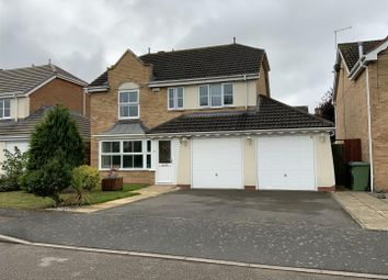 Thumbnail 4 bed detached house to rent in Alicia Close, Cawston, Rugby
