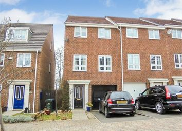 Thumbnail 3 bed end terrace house for sale in Skendleby Drive, Newcastle Upon Tyne, Tyne And Wear