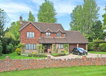Thumbnail 4 bed detached house for sale in School Lane, Bentley, Farnham, Surrey