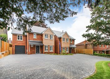 Thumbnail 4 bed detached house for sale in Warsash Road, Locks Heath, Southampton