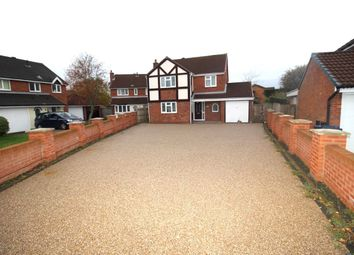 Thumbnail 4 bed detached house for sale in Brackenbury Close, Lostock Hall, Preston