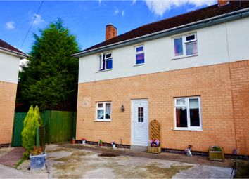 Thumbnail 3 bed semi-detached house for sale in Manor Road, Loughborough