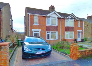 Thumbnail 3 bed semi-detached house for sale in Joyes Road, Folkestone