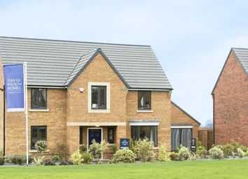 "Thumbnail 4 bed detached house for sale in ""Winstone"" at Carters Lane, Kiln Farm, Milton Keynes"