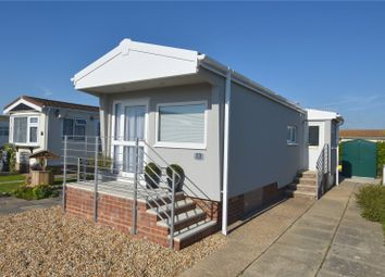 Thumbnail 1 bed bungalow for sale in Downs Close, Broadway Park, The Broadway, Lancing