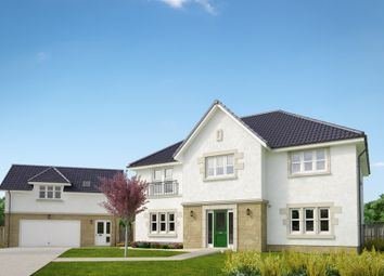 "Thumbnail 5 bed detached house for sale in ""The Macrae"" at Peel Road, Thorntonhall, Glasgow"