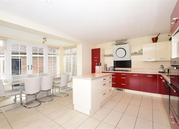 5 bed semi-detached house for sale in Richmond Avenue, Kings Hill, West Malling, Kent ME19