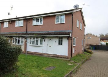 Thumbnail 2 bed end terrace house to rent in Woodbrook Close, Papworth Everard, Cambridge