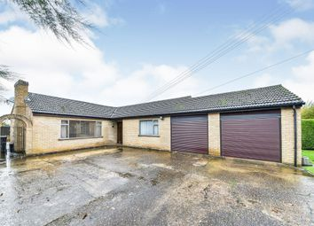 Thumbnail 4 bed detached bungalow for sale in Willow Drive, Tilney All Saints, King's Lynn