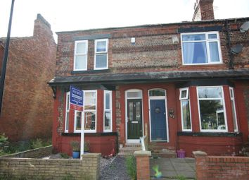 Thumbnail 4 bed end terrace house to rent in Roseneath Road, Urmston, Manchester