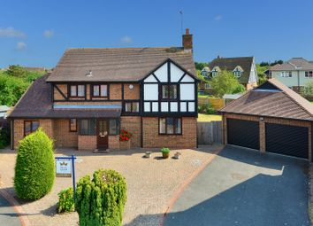 Thumbnail 4 bed detached house for sale in The Leas, Chestfield, Whitstable