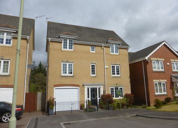 Thumbnail 4 bed town house for sale in St Davids Heights, Miskin, Pontyclun