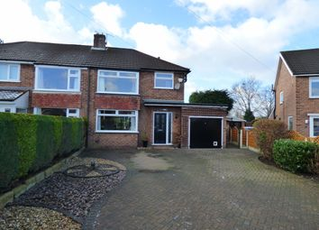 Thumbnail 3 bed semi-detached house for sale in Balmoral Grove, Hazel Grove, Stockport