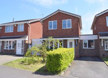 Thumbnail 3 bedroom detached house for sale in Law Close, Tividale