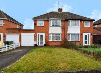 Thumbnail 3 bed semi-detached house for sale in Forge Mill Road, Redditch, Worcestershire