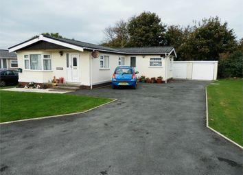 Thumbnail 3 bed mobile/park home for sale in Min Yr Afon, Woodlands Caravan Park, Llanon