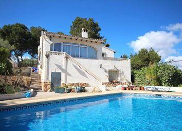Thumbnail 3 bed villa for sale in Moraira, Alicante, Valencia, Spain